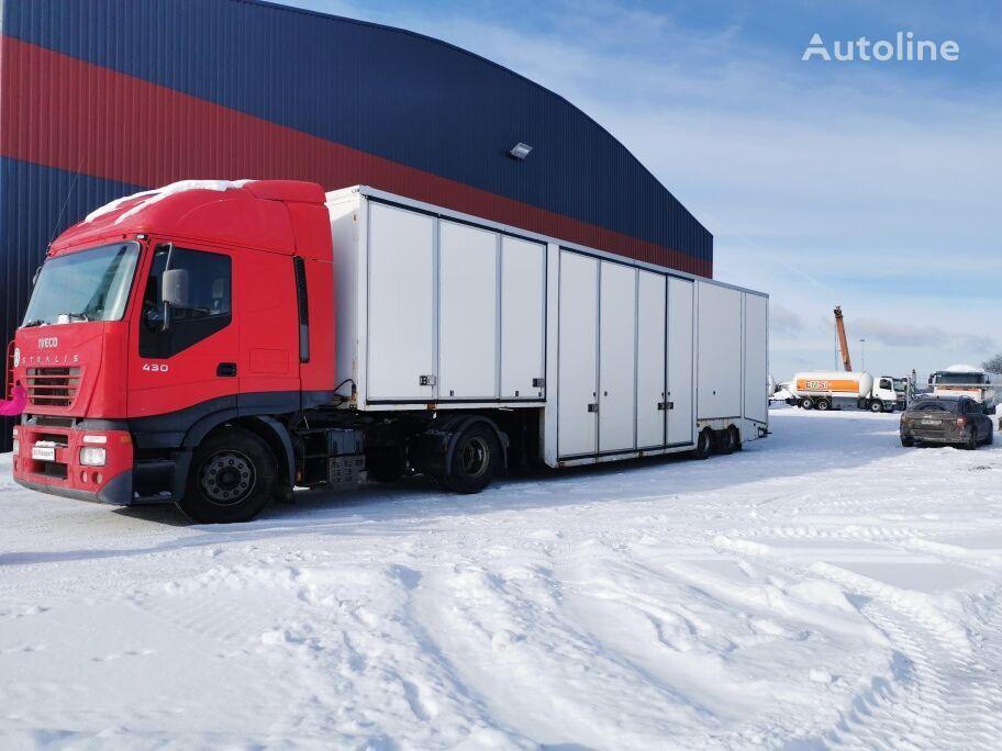 OVRIGA 5 car transporter car transporter semi-trailer
