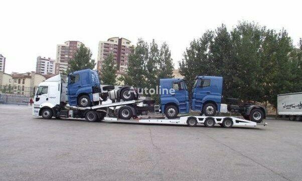 new TUERK 2021 Truck & Car carrier car transporter semi-trailer