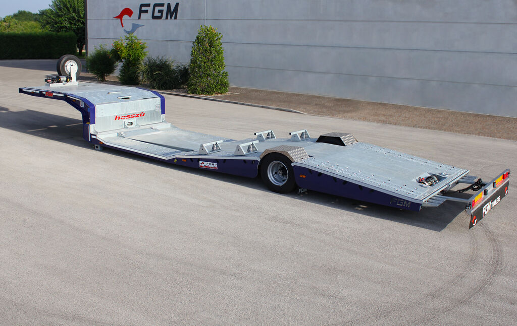 new FGM 19 car transporter semi-trailer