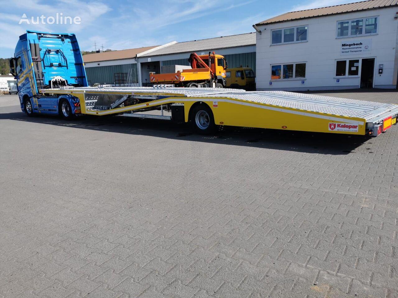 new Kalepar KLP 119V1 CAR CARRIER car transporter semi-trailer