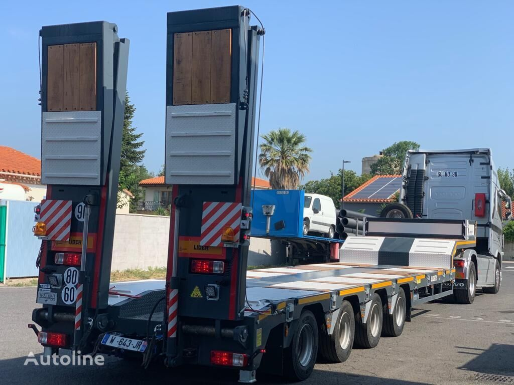 new LECI TRAILER LIDERTRAILER car transporter semi-trailer