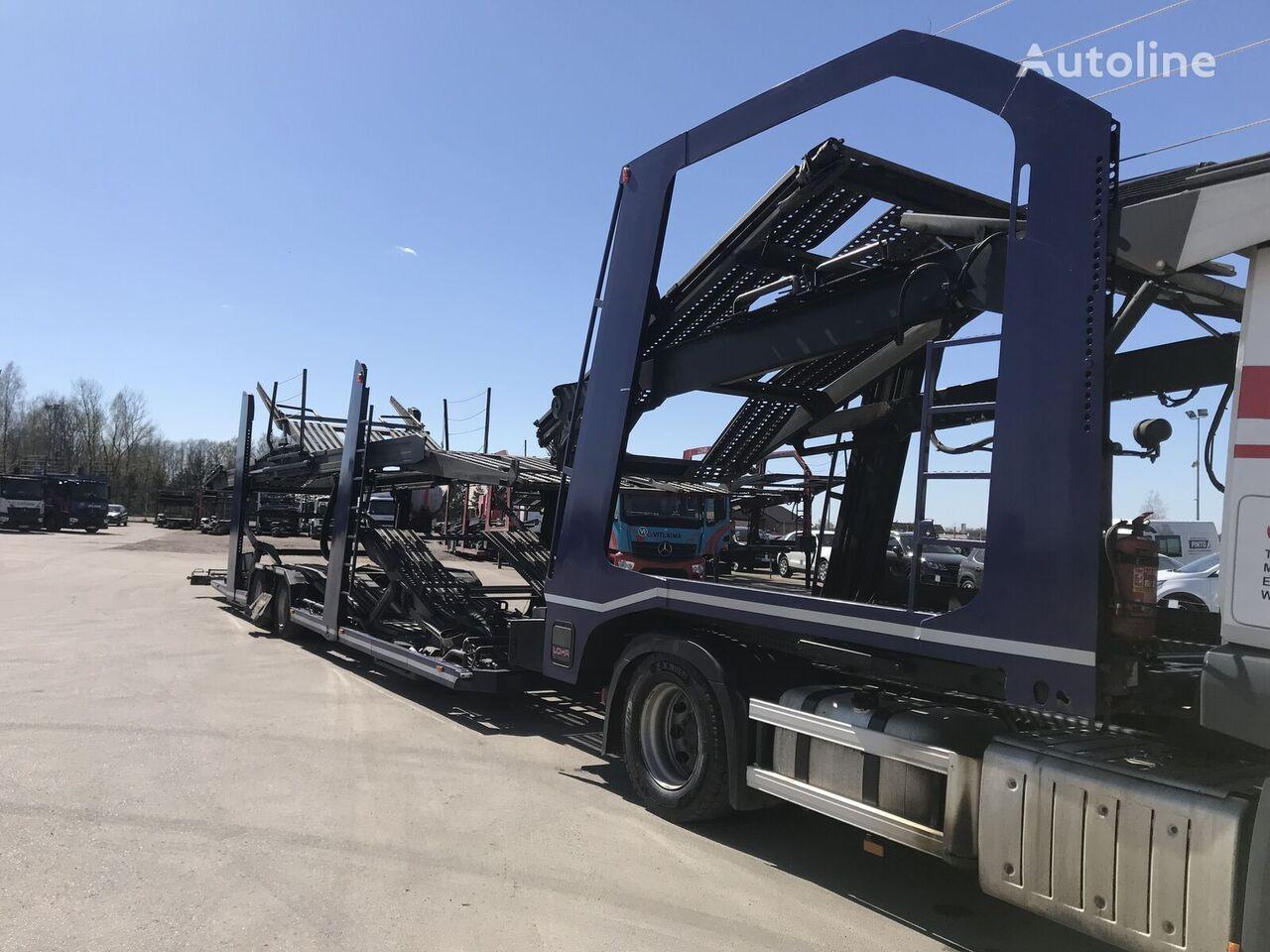 LOHR EUROLOHR 1.53 car transporter semi-trailer
