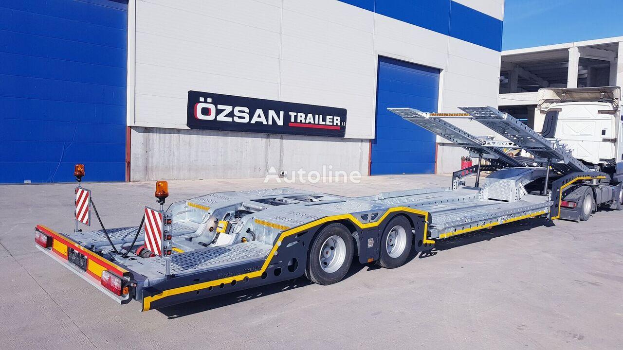 new Ozsan Trailer 2 AXLE (VEGAMAX) TRUCK CARRIER  car transporter semi-trailer