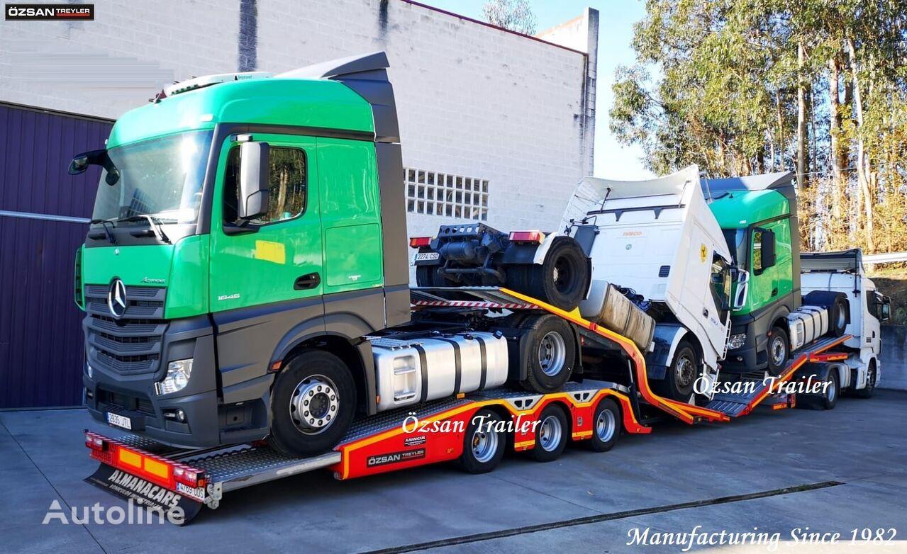 new Ozsan Trailer 3 AXLE (ALPHA) TRUCK CARRIER  car transporter semi-trailer