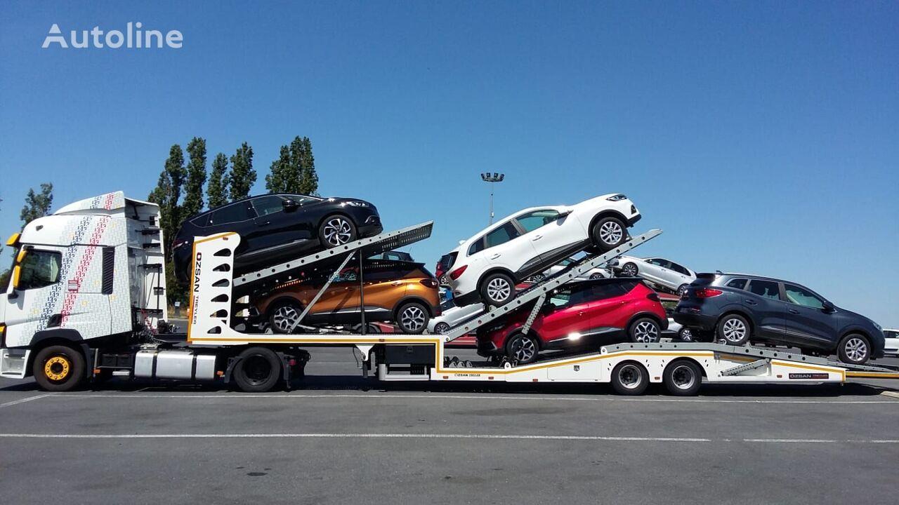 new Ozsan Trailer 6 CAR CARRIER car transporter semi-trailer