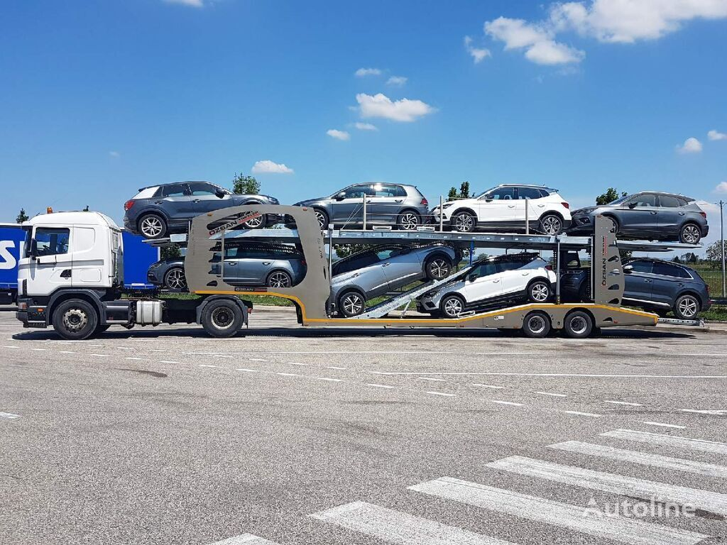 new Ozsan Trailer CAR CARRIER car transporter semi-trailer