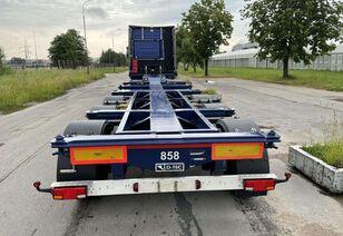 D-TEC Kita PORTMASTER chassis semi-trailer