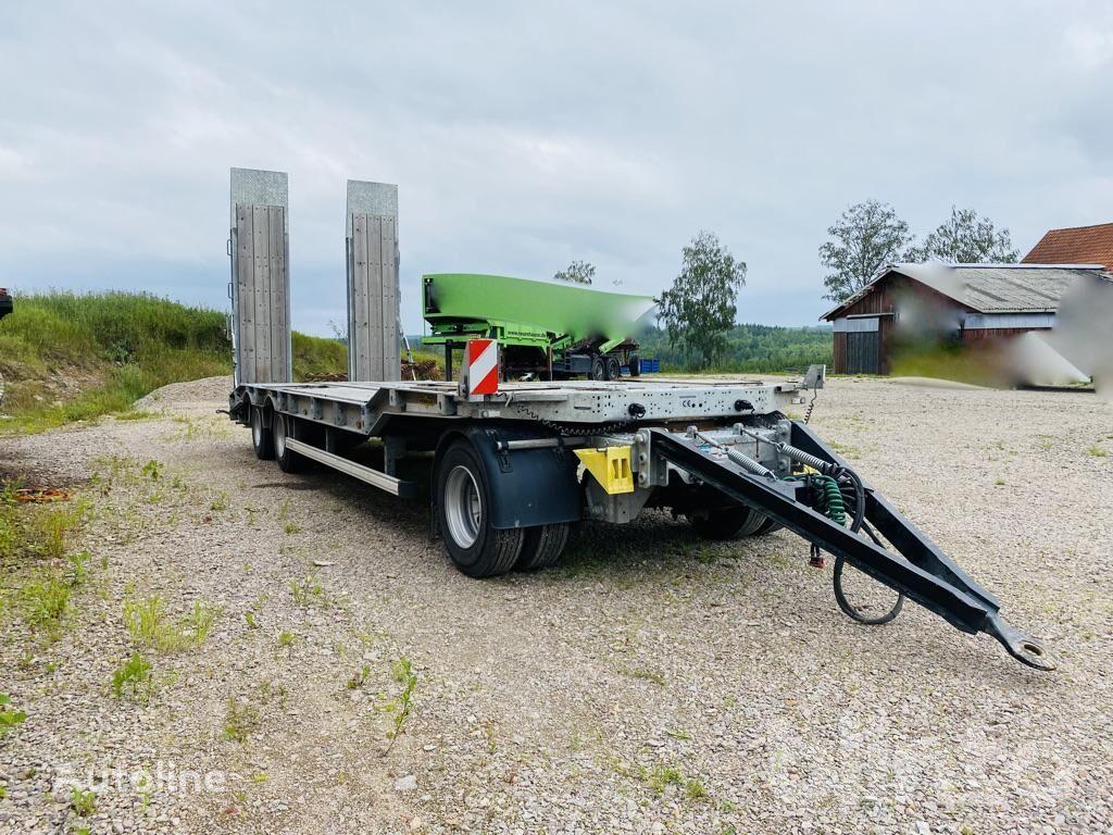 HUMBAUR HTD30 chassis semi-trailer