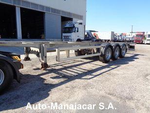 LECI TRAILER LTP chassis semi-trailer