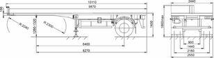 new MAZ 938020-1012 chassis semi-trailer