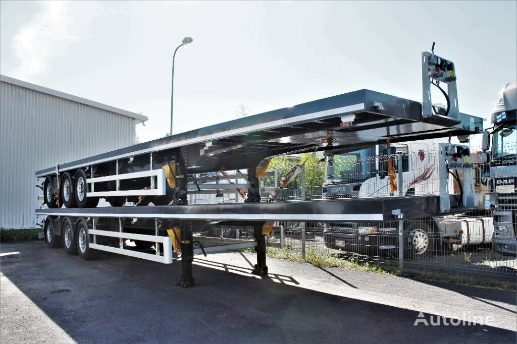new CMT NSP-24 HCT chassis semi-trailer