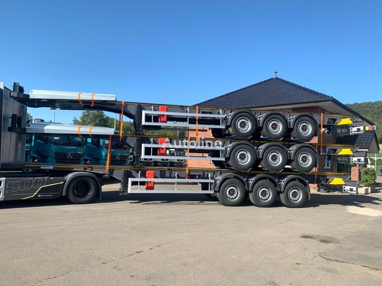 new EuromixMTP Schemel Holz chassis semi-trailer