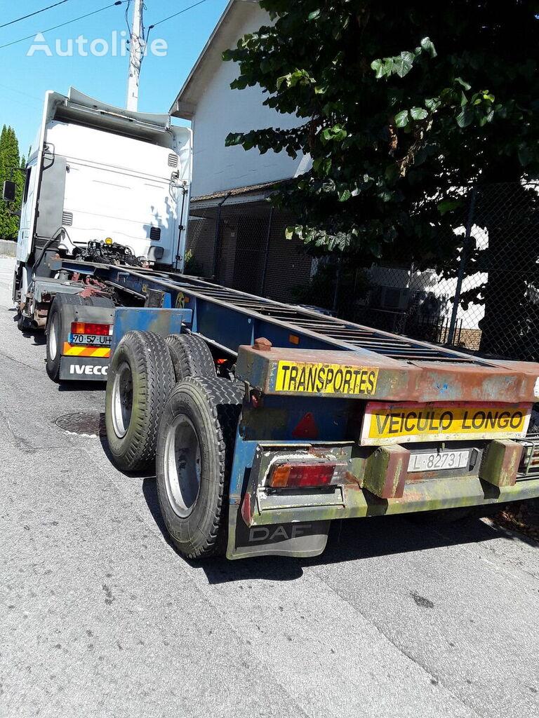 JLS, PLAT 3973 chassis semi-trailer