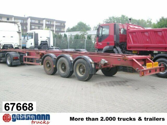 SAnh Container Chassis chassis semi-trailer