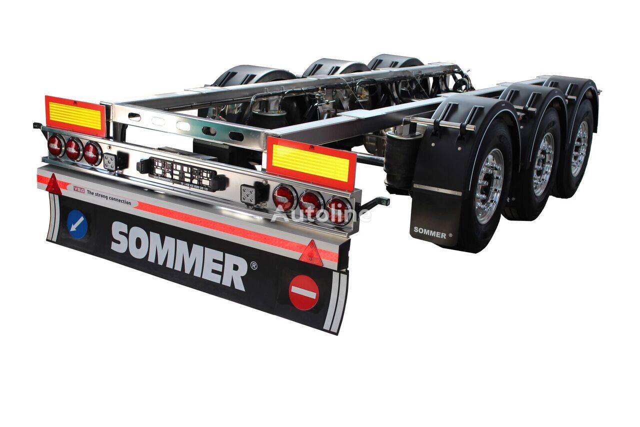 new SOMMER podwozie ze stali nierdzewnej chassis semi-trailer