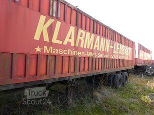 BUDAMOBIL Deutrans closed box semi-trailer
