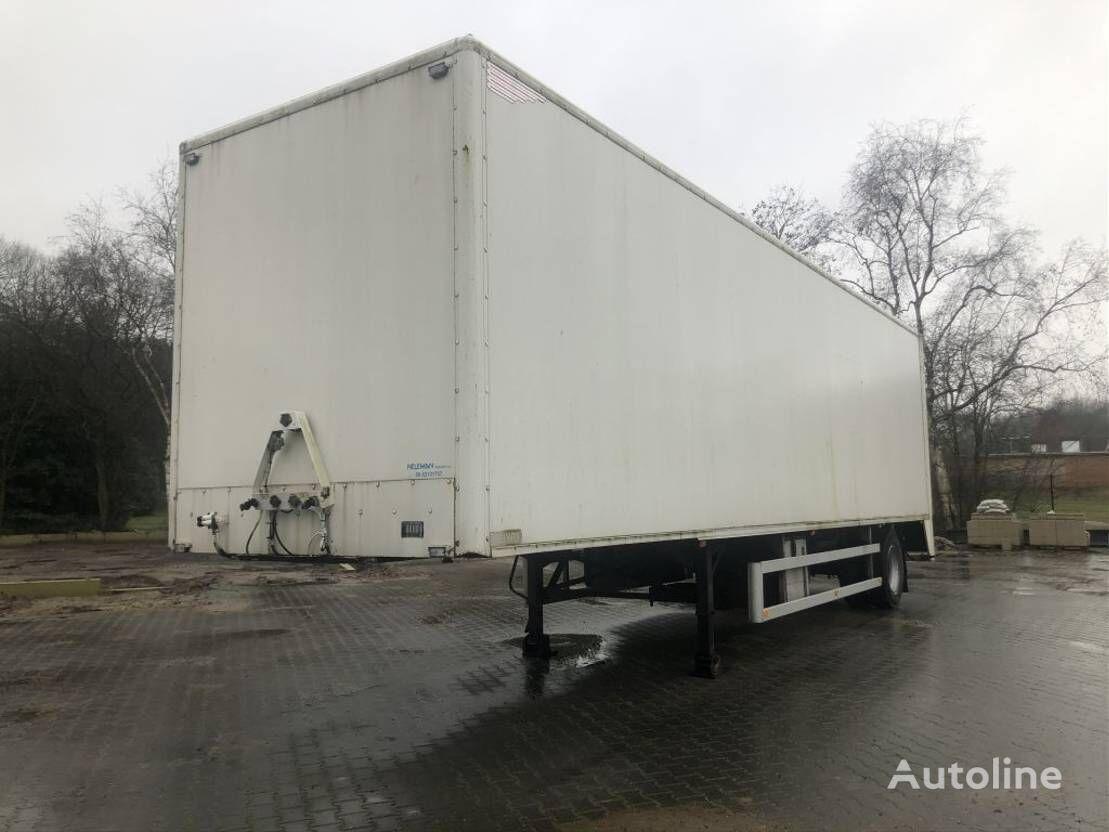 HTF HZCT 22 closed box semi-trailer