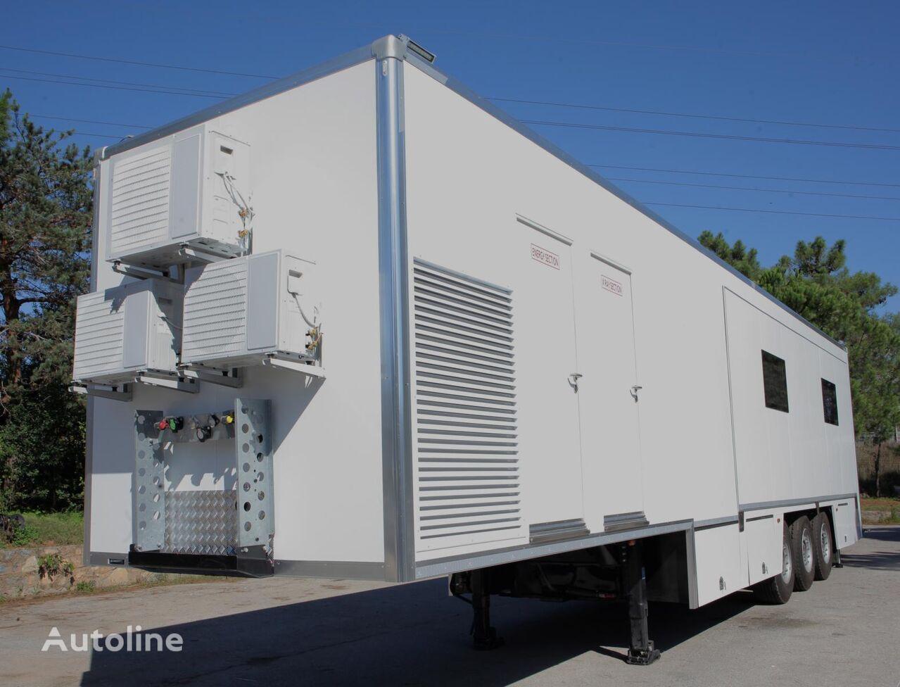 new KOLUMAN 2021 MOBILE HOSPITAL closed box semi-trailer