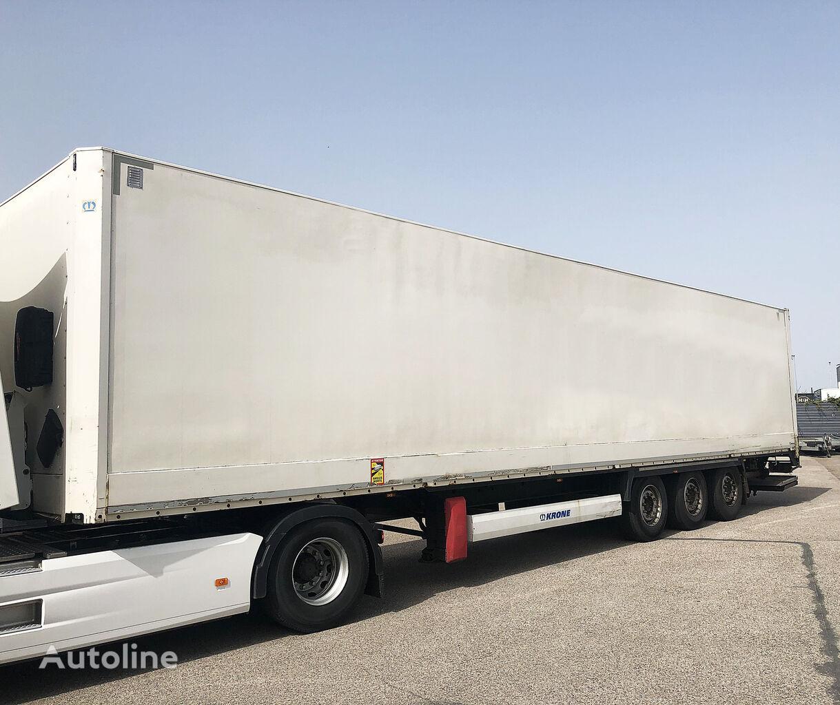 KRONE SD27D closed box semi-trailer