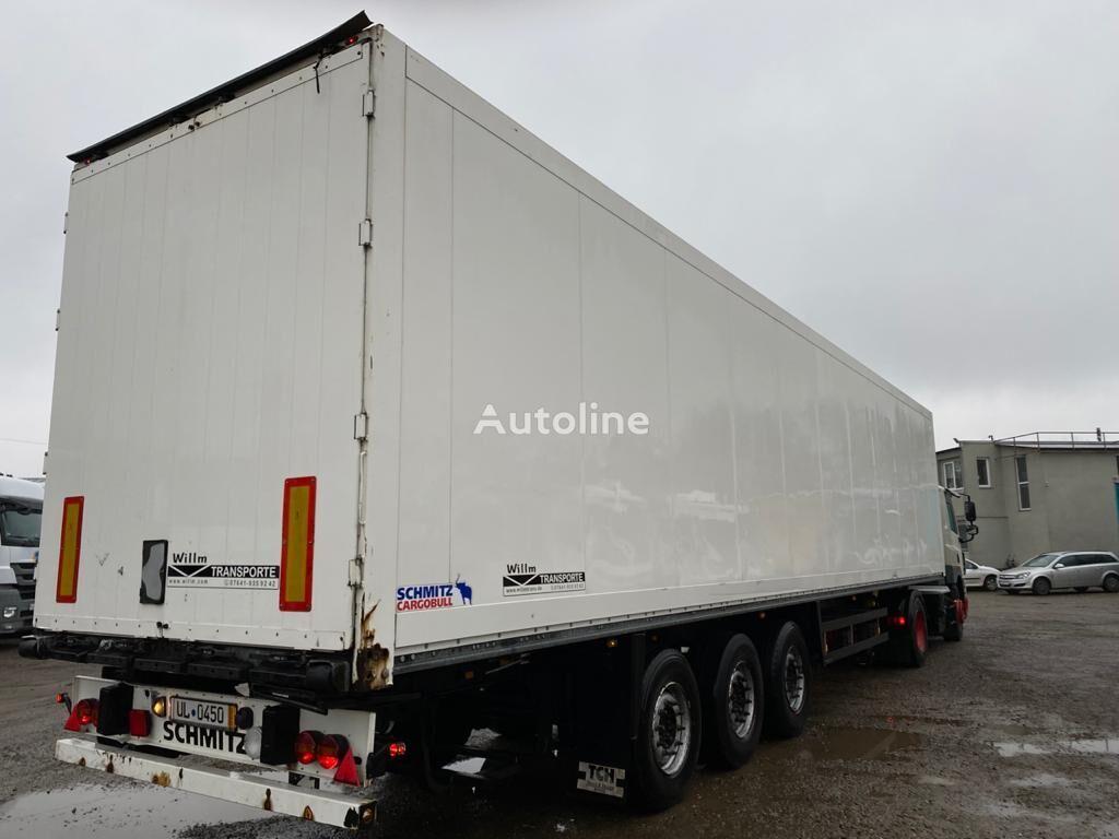 SCHMITZ CARGOBULL SKO 24 closed box semi-trailer