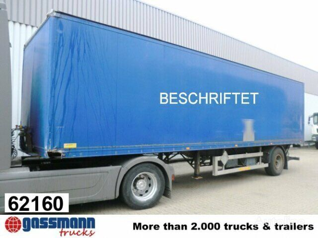 ACKERMANN ACS / 9/10.1E closed box semi-trailer