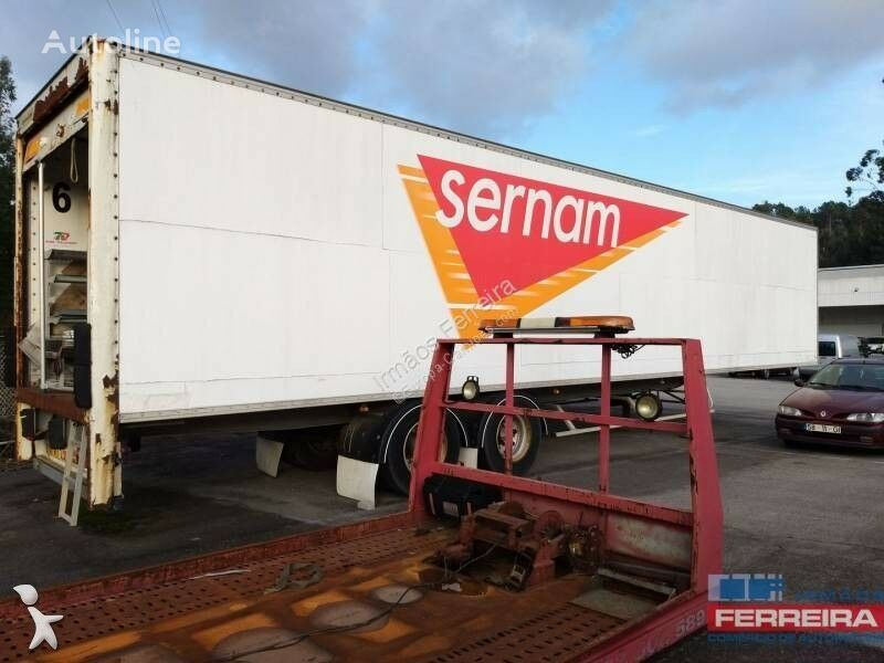 BENALU closed box semi-trailer