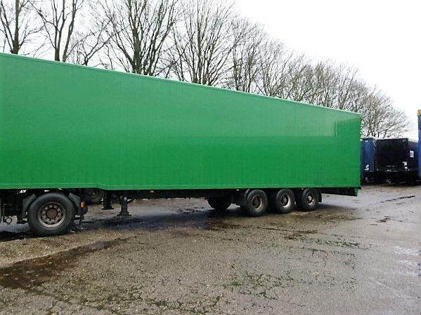 BULTHUIS closed box semi-trailer