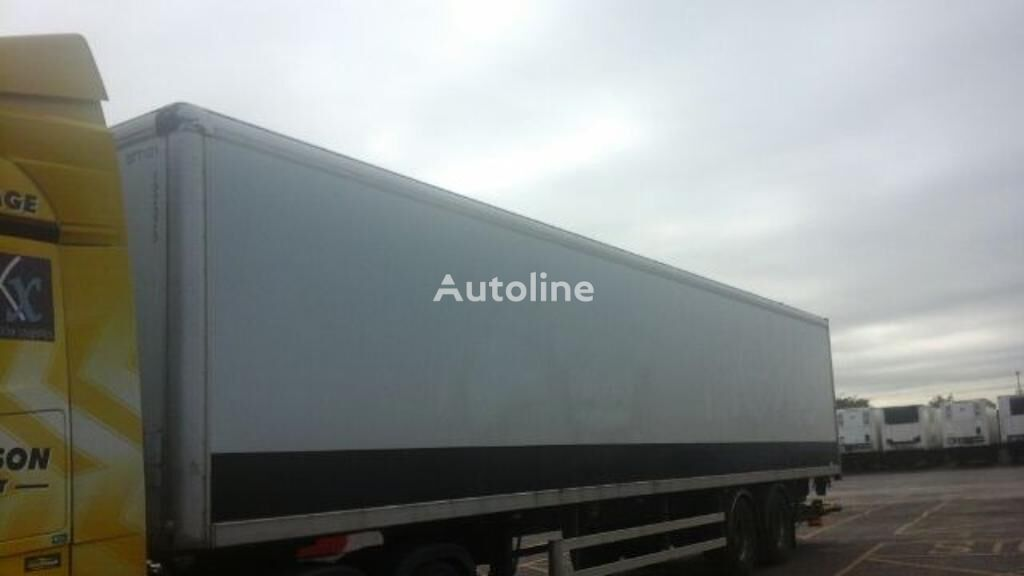 DON BUR Van Trailer closed box semi-trailer