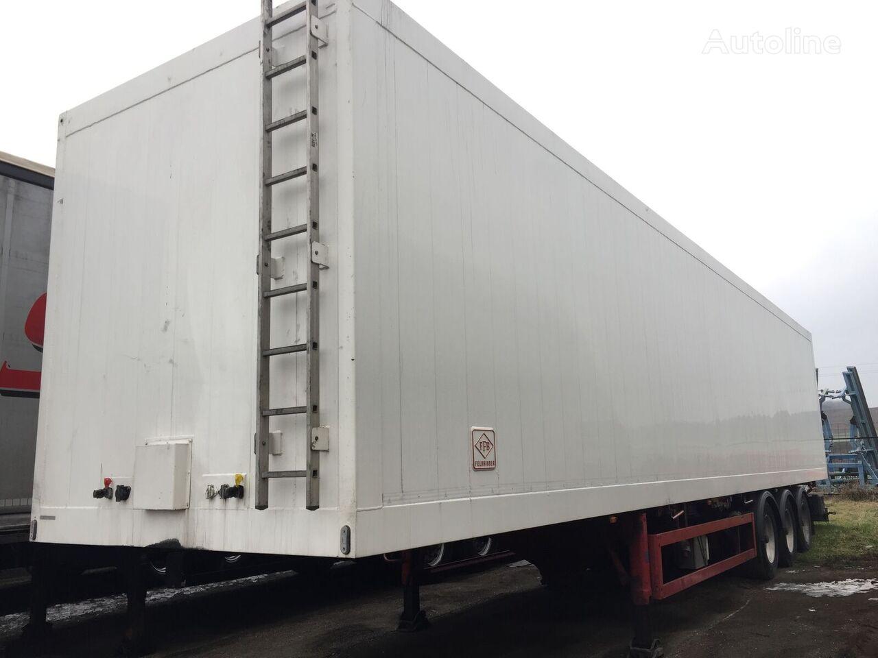 FELDBINDER KIS78-3 closed box semi-trailer