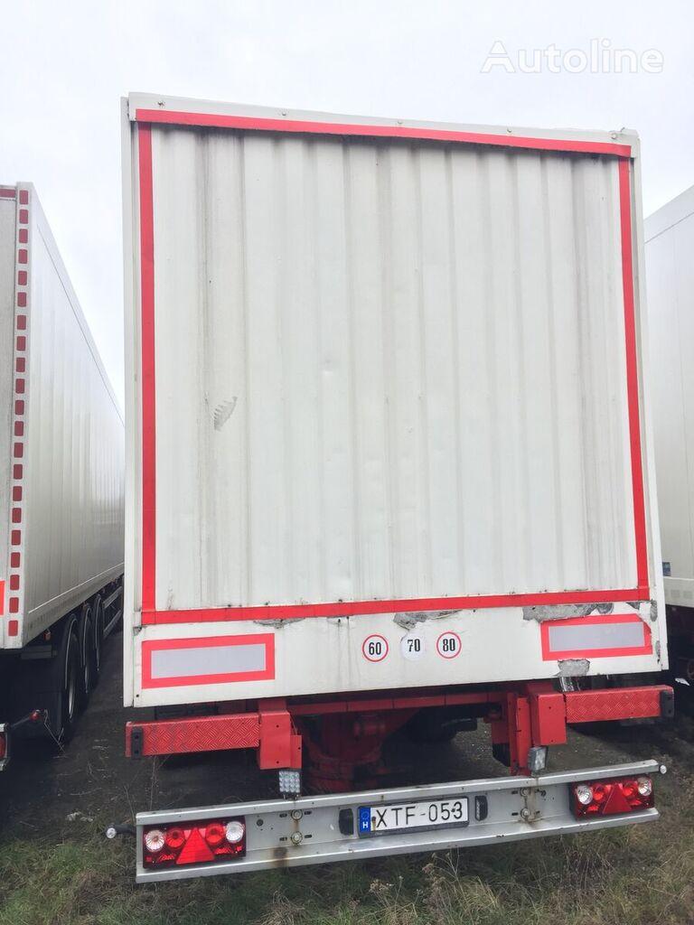 FELDBINDER KIS80-3 closed box semi-trailer