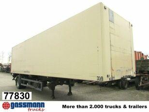 KÖGEL SVKA 10, City-Koffer mit Isowänden closed box semi-trailer