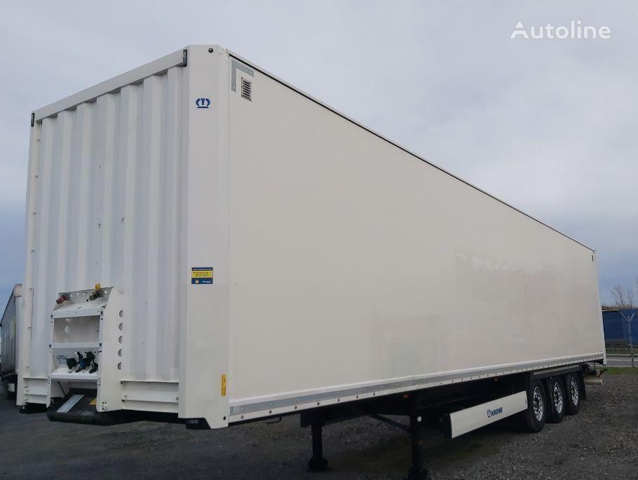 KRONE Furgon Kurierka closed box semi-trailer