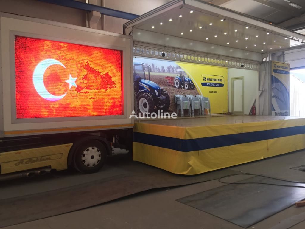 new Konturksan SAHNE DORSE PLATFORM closed box semi-trailer