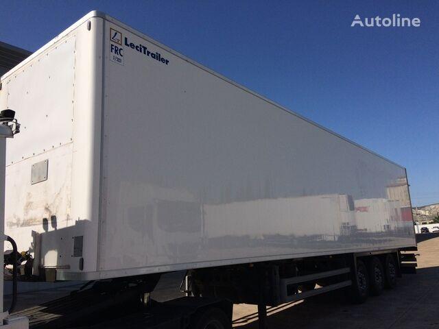 LECI TRAILER closed box semi-trailer