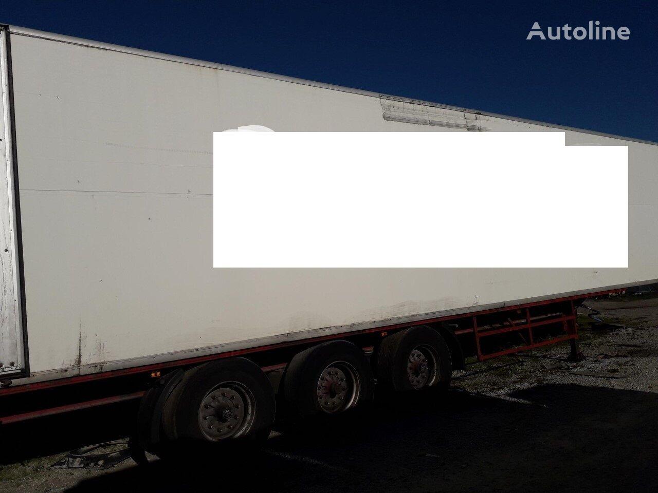 LECI TRAILER LTP closed box semi-trailer