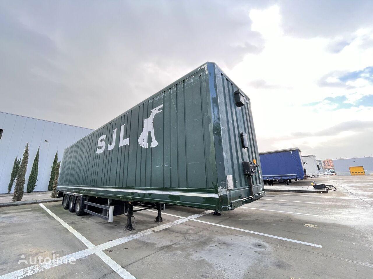 LECI TRAILER Semirremolque Furgon  closed box semi-trailer