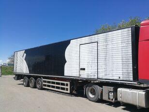 MERKER M300 14 MT  FURGONE / VAN ALLUMINIO, FRENI A DISCO, STERZANTE closed box semi-trailer