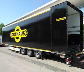 new ORTHAUS VMS080 Box Van for Air Cargo closed box semi-trailer