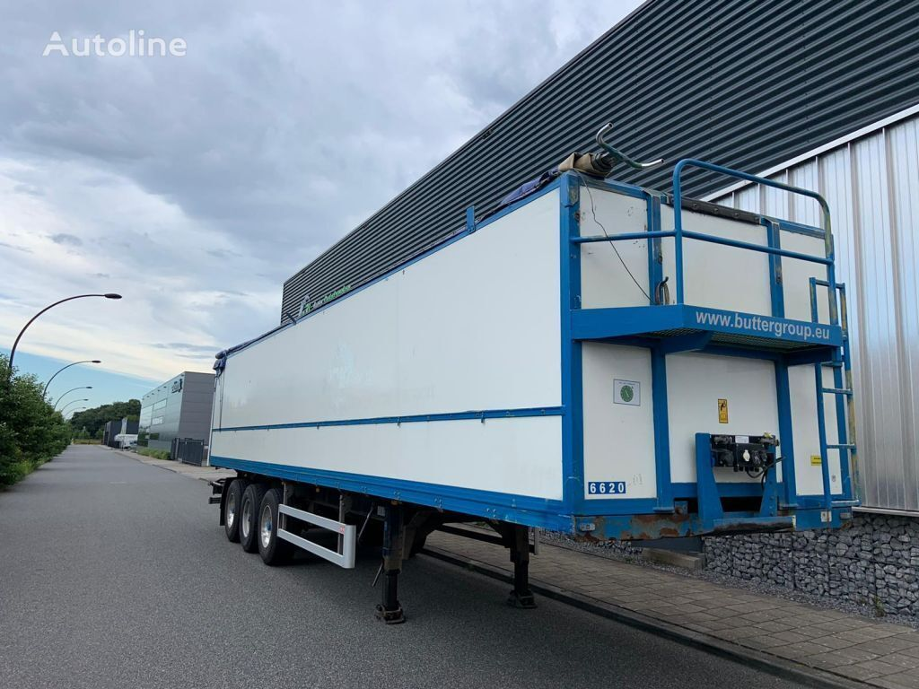 PACTON T3-018 bandlosser 5850 kg apk FOR SALE or FOR RENT closed box semi-trailer