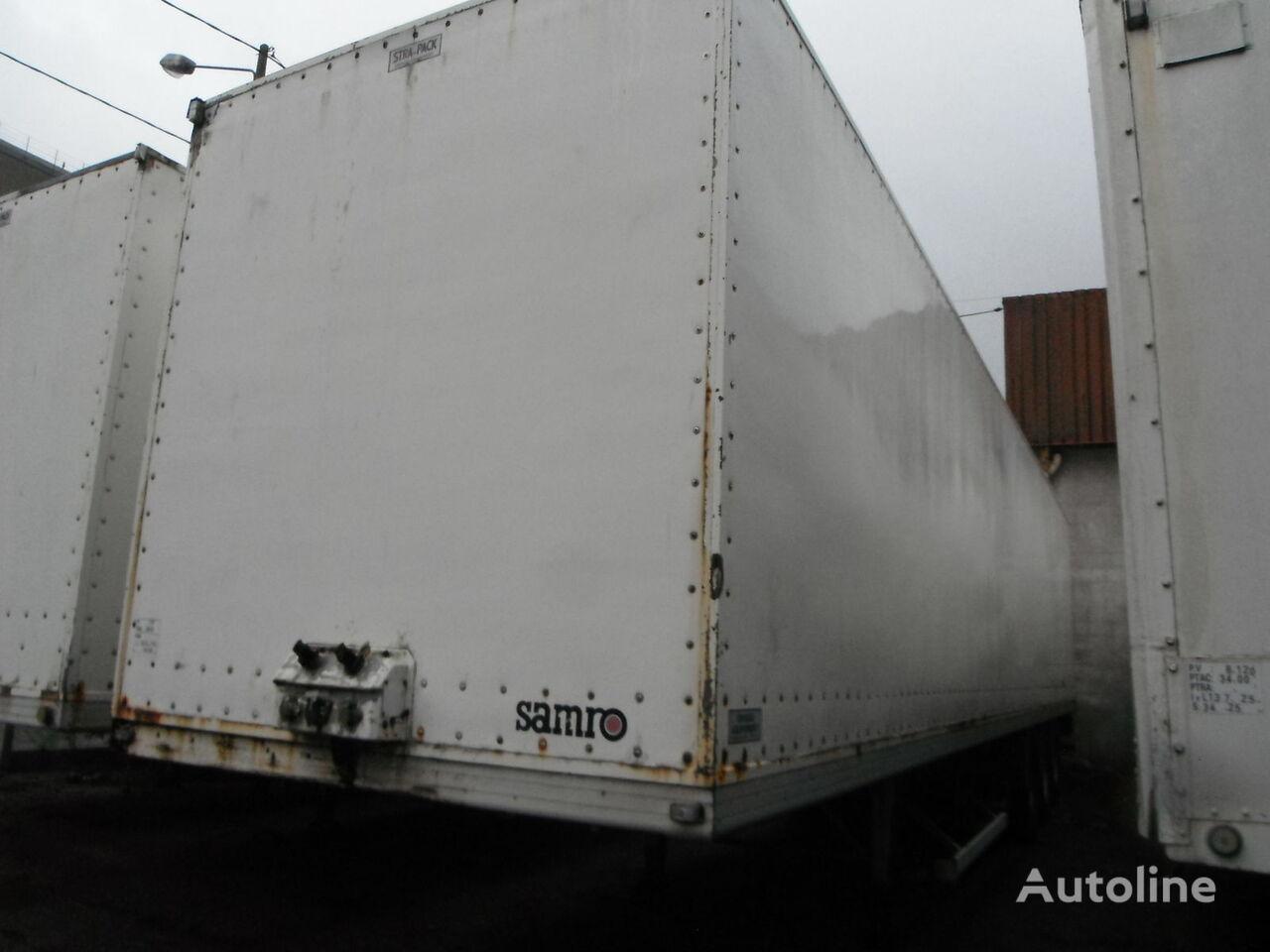 SAMRO 38 closed box semi-trailer