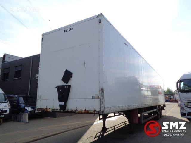 SAMRO Oplegger closed box semi-trailer