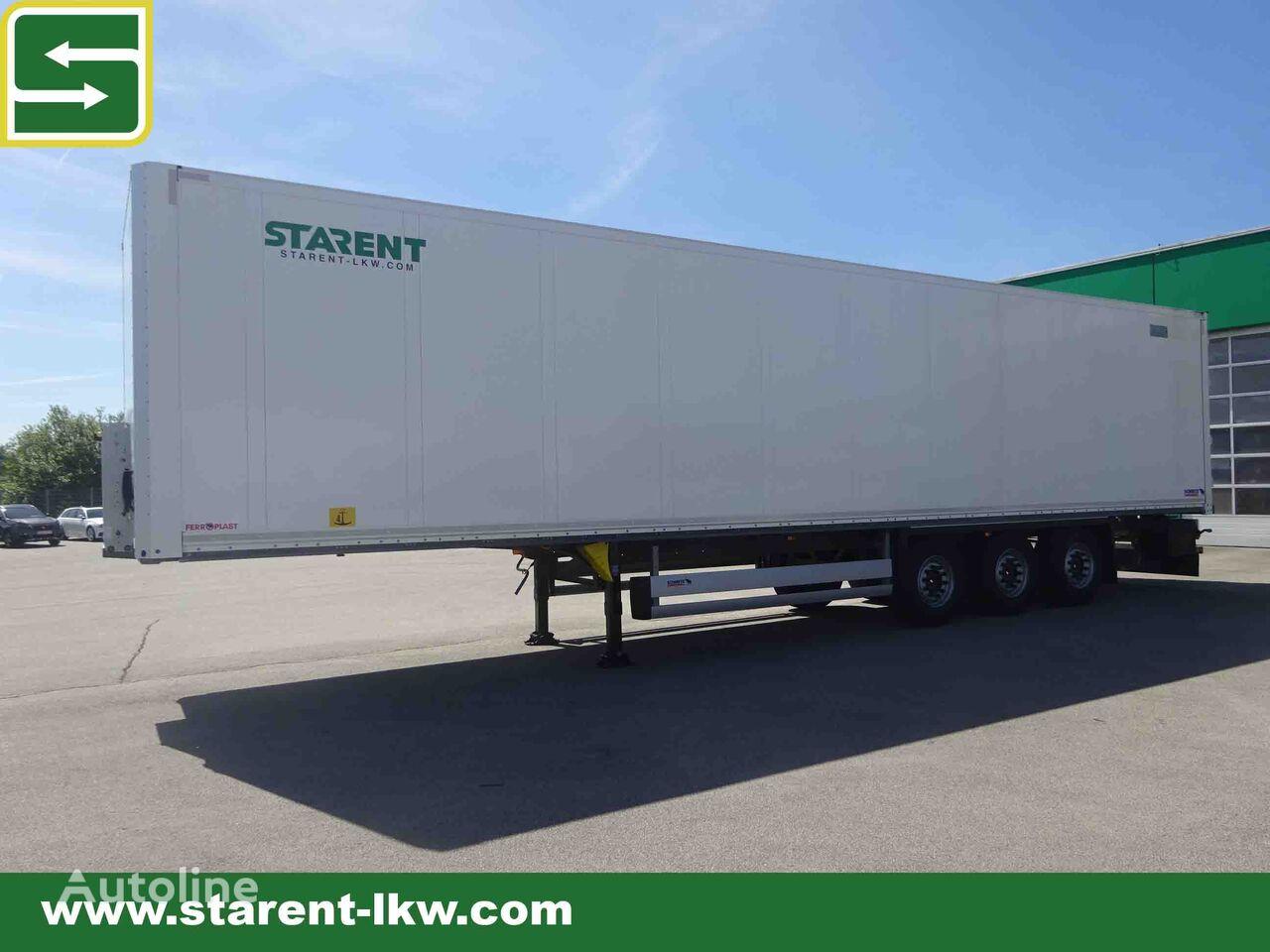SCHMITZ CARGOBULL Trockenfrachtkoffer, Doppelstock, Liftachse, Zurrleisten, ADR, L closed box semi-trailer