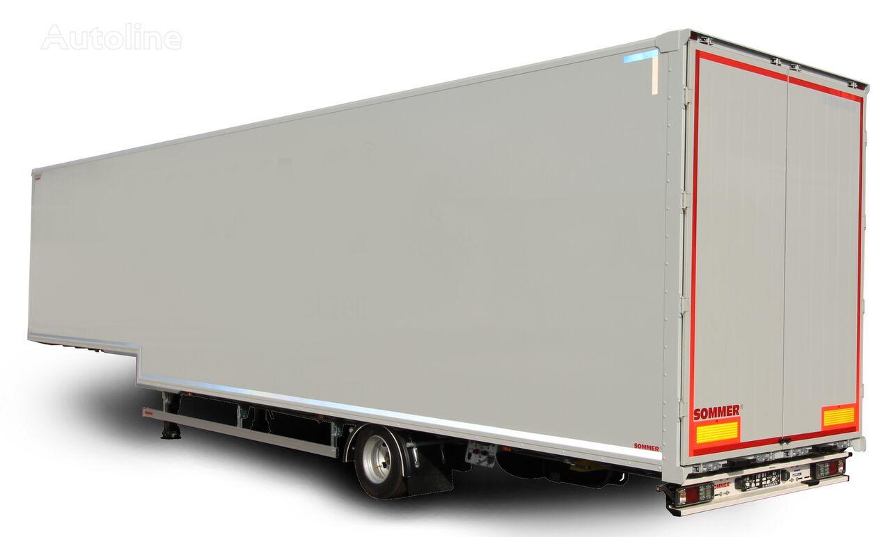 new SOMMER S1 closed box semi-trailer