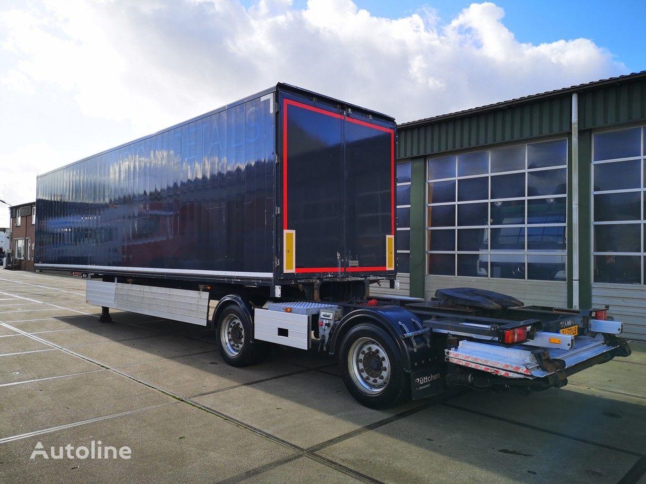 TRACON TB1218   LZV OPLEGGER closed box semi-trailer