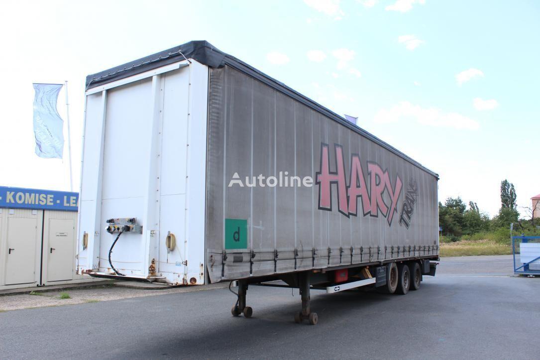 VAN HOOL closed box semi-trailer