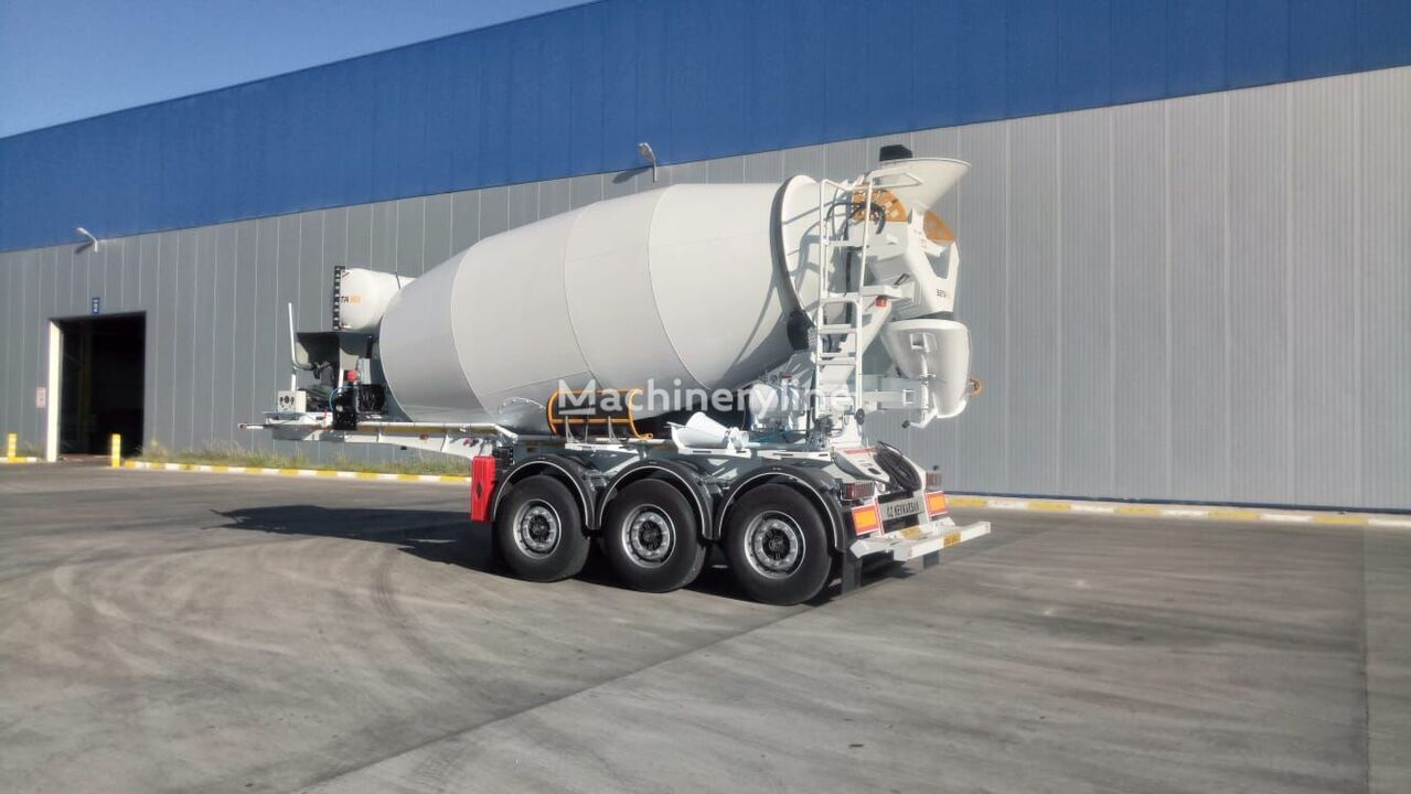 new EXPOTRAILER concrete mixer semi-trailer