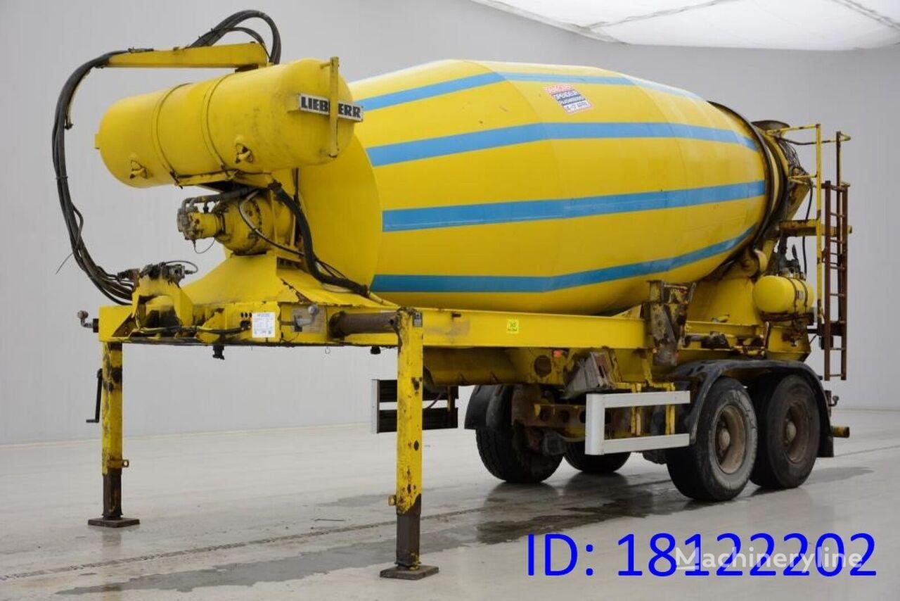 MULLER-MITTELTAL Muller Mitteltal 12M³ Mixer concrete mixer semi-trailer