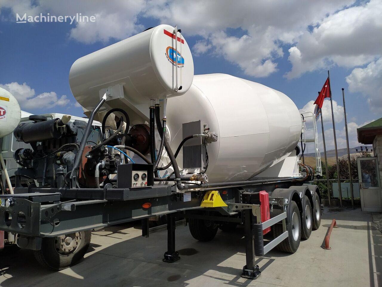 new NTM concrete mixer semi-trailer