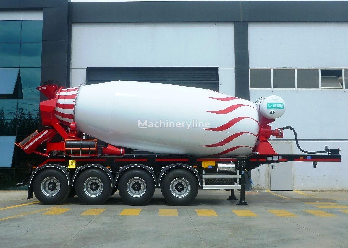new OKT TRAILER concrete mixer semi-trailer