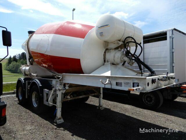 PUTZMEISTER concrete mixer semi-trailer